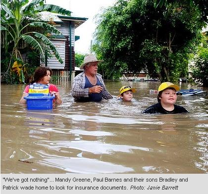 floods in queensland. Queensland Floods
